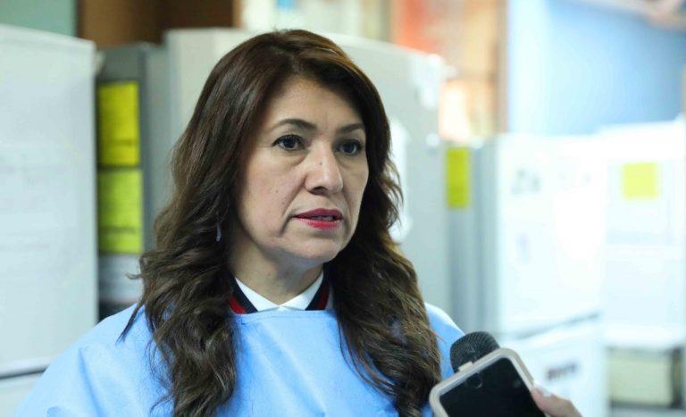 """Alba Flores: Vacuna que llegó hoy es producida en Corea, """"no tenemos temor"""""""