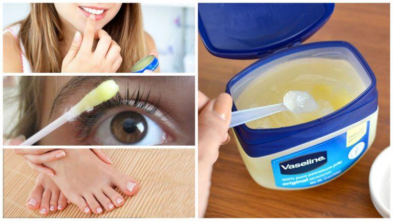 Descubra 10 usos cosméticos de la vaselina