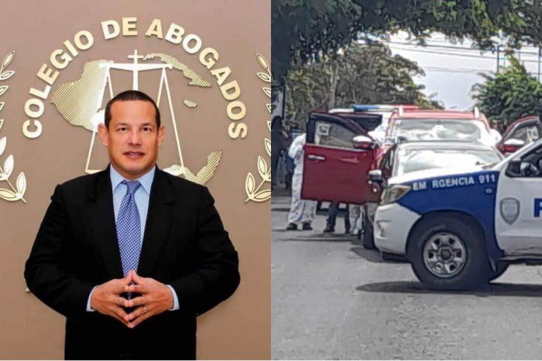 GALERÍA   La muerte del abogado Melvin Bonilla meció la capital este jueves
