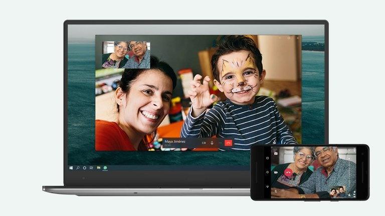 Videollamadas en WhatsApp desde computadora