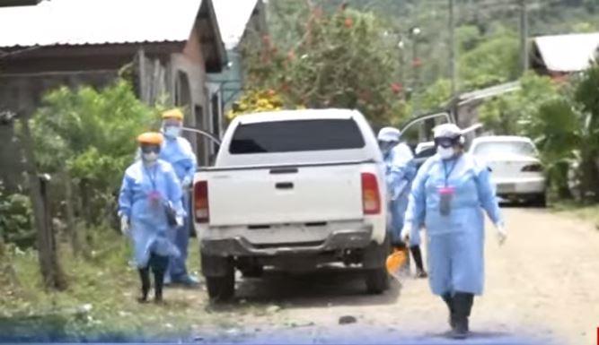Casos de COVID en El Progreso.