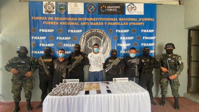 Capturan supuestos pandilleros en SPS