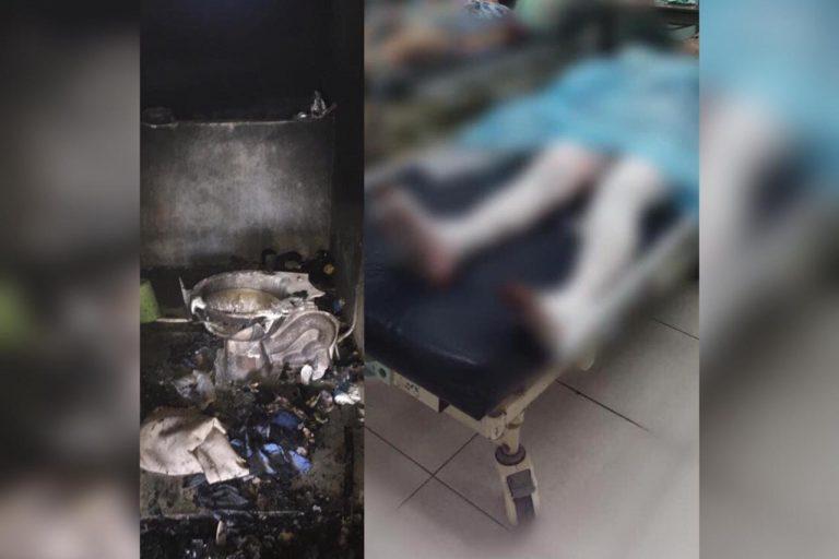 Explosión en Villanueva deja tres adultos y un menor con quemaduras