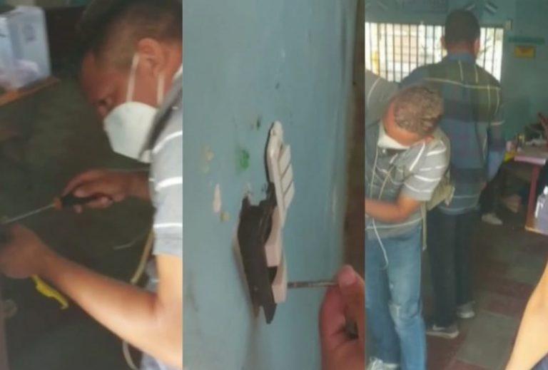 VIDEOS| Denuncian que nacionalistas destruyeron aulas de escuela en Choluteca