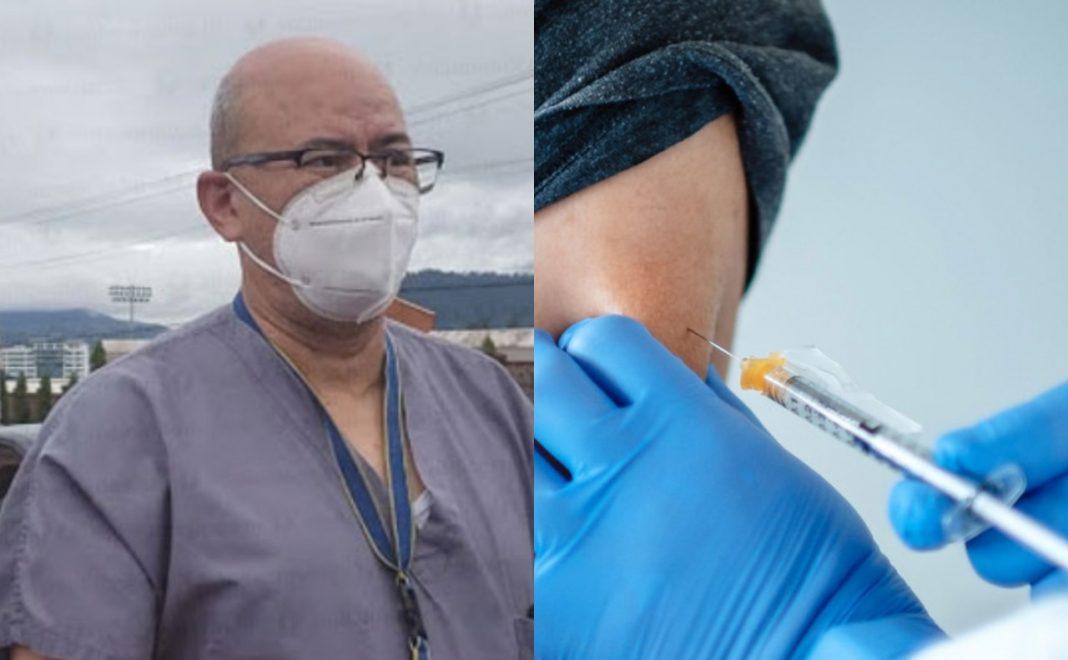 Microbiólogos campaña vacunación antiCOVID