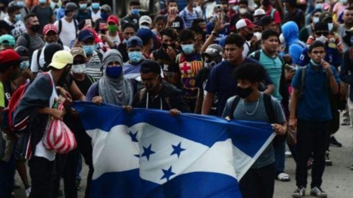 Acción Menonitas Caravanas hondureños