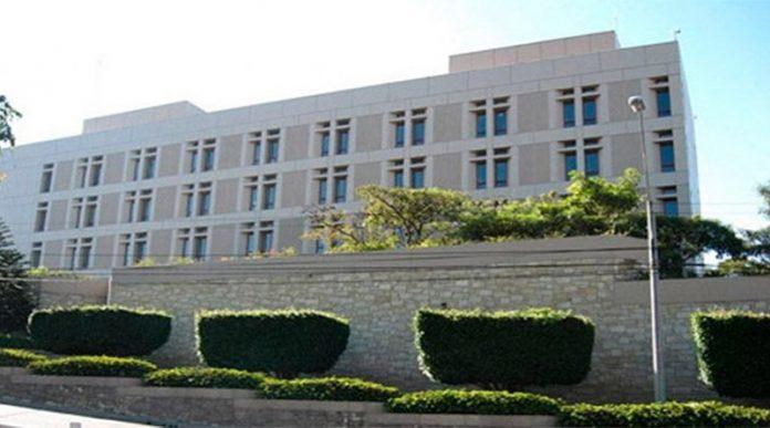 embajada de EEUU amenaza de bomba