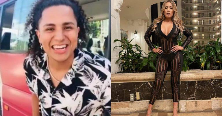Farándula| Elsa Oseguera advierte a Davis Flow por presunto beso a otra mujer