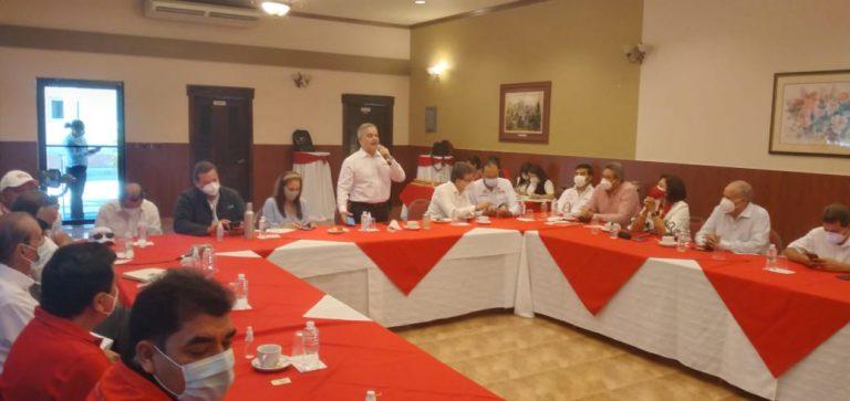 Desayuno en Siguatepeque: Yani agradece triunfo a sus coordinadores y les pide ir en busca de los liberales de otras corrientes