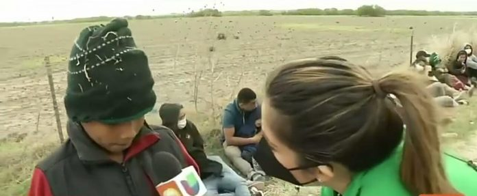 Niño hondureño frontera mamá