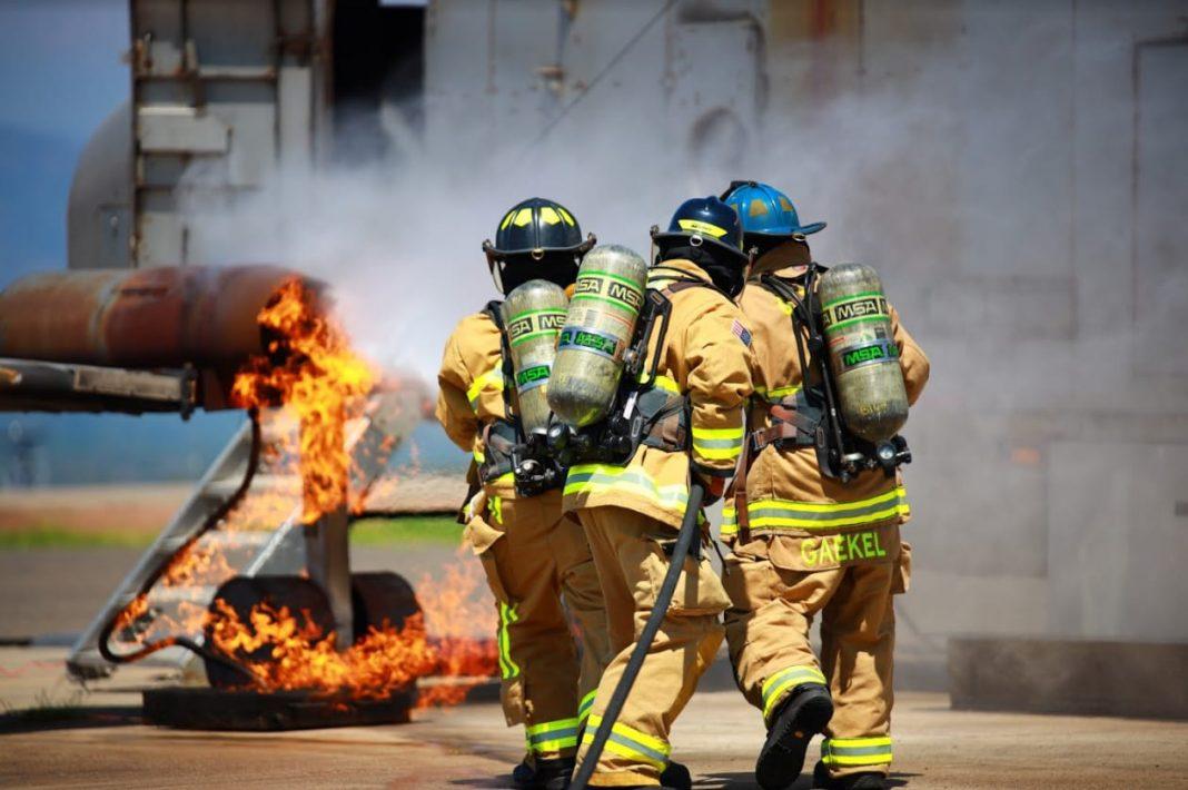 Capacitación bomberos Honduras