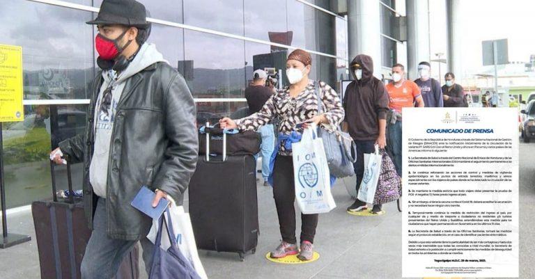 Por nueva cepa de COVID, Honduras restringe ingreso a viajeros de varios países