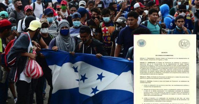 Guatemala estado excepción migrantes