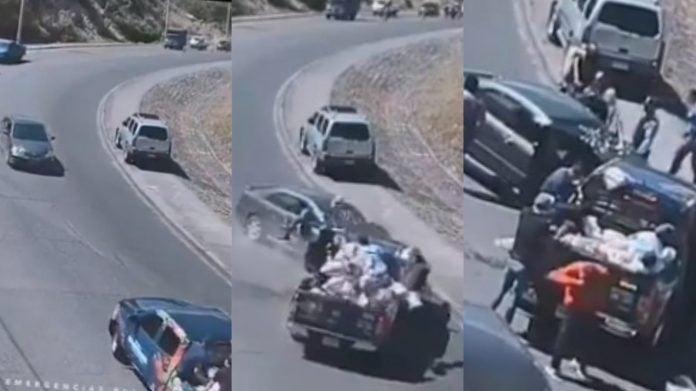 accidente cuesta El Chile