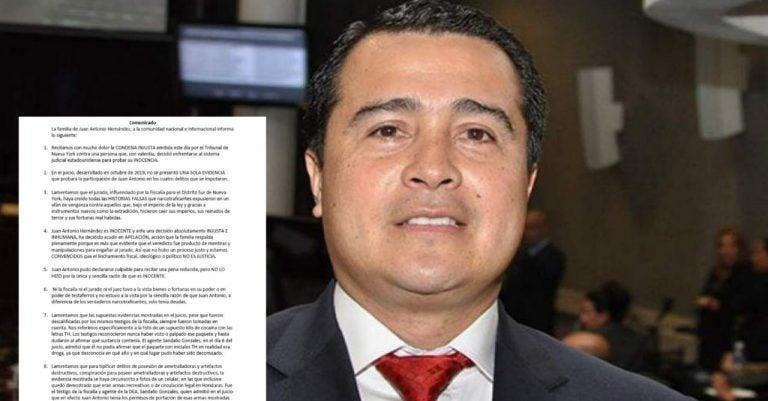 «Condena injusta»: familia Hernández tilda de «inhumana» sentencia a «Tony»