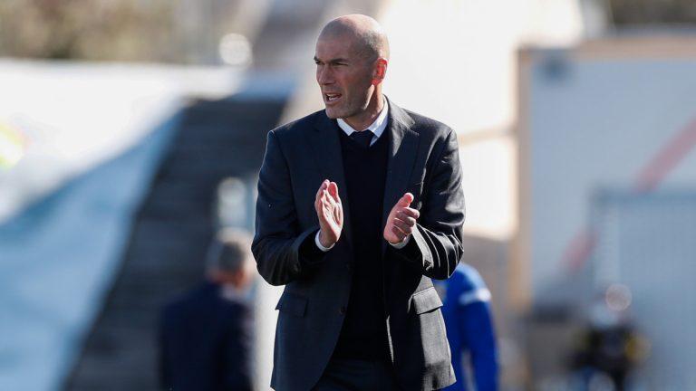 Zidane: «La remontada nos vendrá muy bien para preparar el partido del martes»