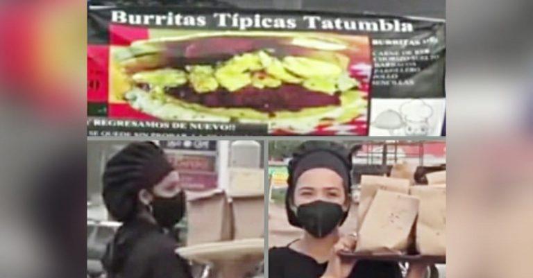 Por pandemia, emprendedoras hondureñas se reinventan con negocio de burritas