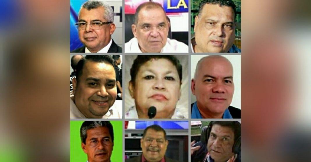 muertes de periodistas por COVID-19 en Honduras