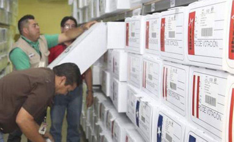 CNE: Maletas electorales se abrirán en presencia de delegados de los movimientos