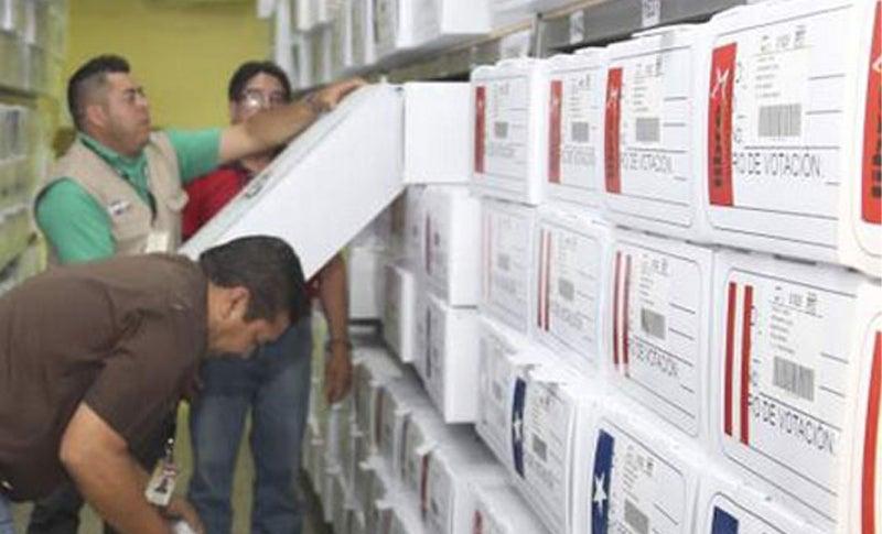 cne convoca para abrir maletas electorales