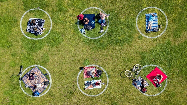 Imagen referencia a las burbujas familiares.
