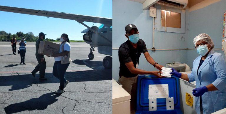 Llegan vacunas contra el COVID a Yoro e Islas de la Bahía; ¿cuándo las aplicarán?
