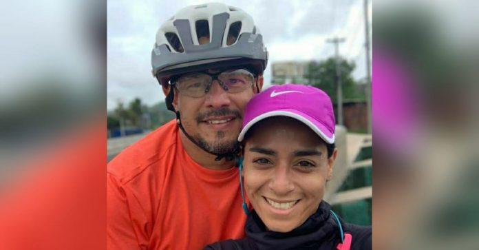 Carolina Salinas esposa de Melvin Bonilla