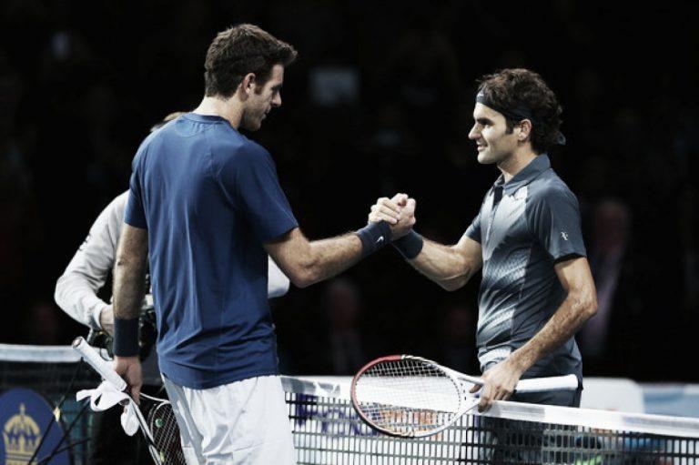 El consejo de Federer a del Potro para su regreso a las canchas de tenis
