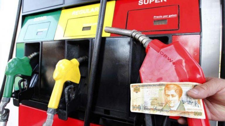 Combustibles subirán más de 1 lempira a partir de este lunes en Honduras