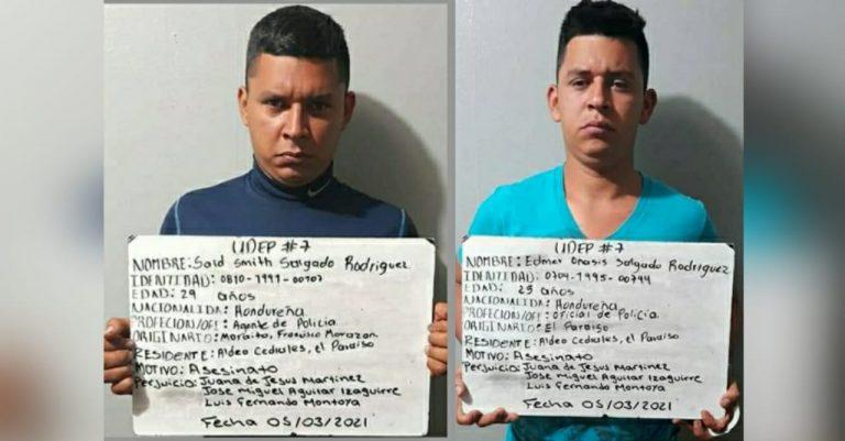 Juez determina que policías acusados de masacre en Danlí sigan en prisión