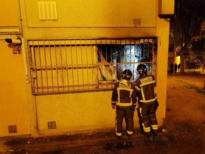 Hondureña muere en un incendio en España; su hija trató de salvarla