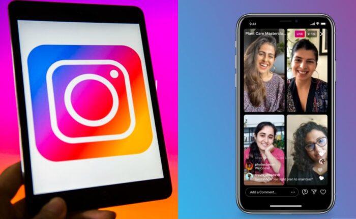 Salas en vivo: Instagram permite hacer «streaming» hasta con 4 personas