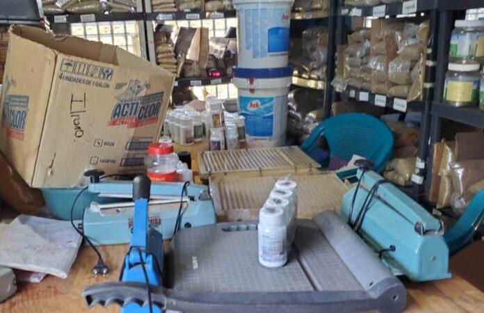 laboratorio medicamentos clandestino Comayagua