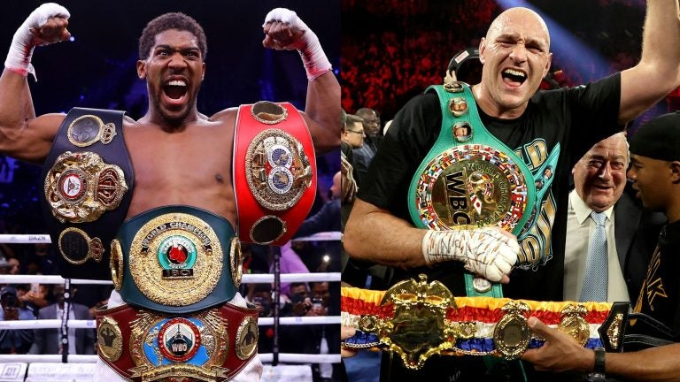 IMPERDIBLES: Tyson Fury y Anthony Joshua acuerdan dos peleas este 2021