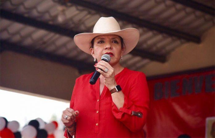 Xiomara Castro agradece pueblo hondureño