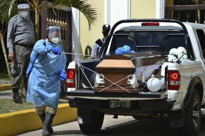 muertes por COVID-19 en Honduras