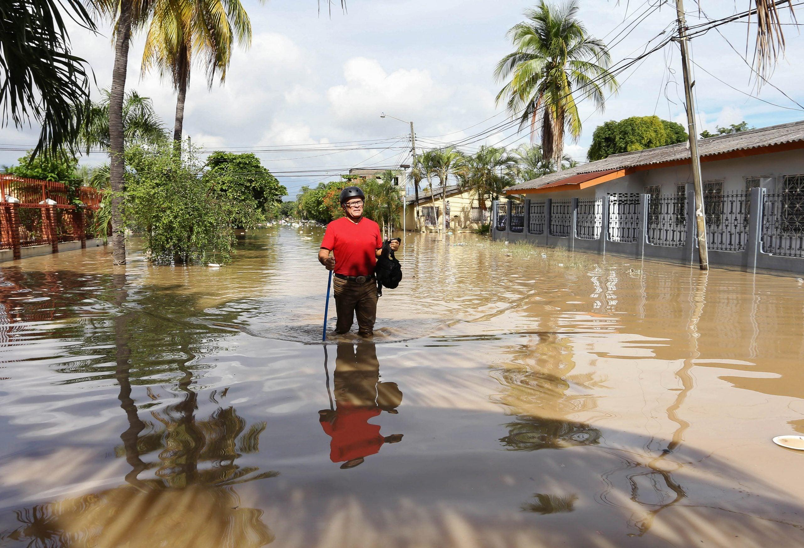 En noviembre de 2020, Honduras fue devastada por Eta e Iota. El Valle de Sula, al norte del país, fue el más afectado.