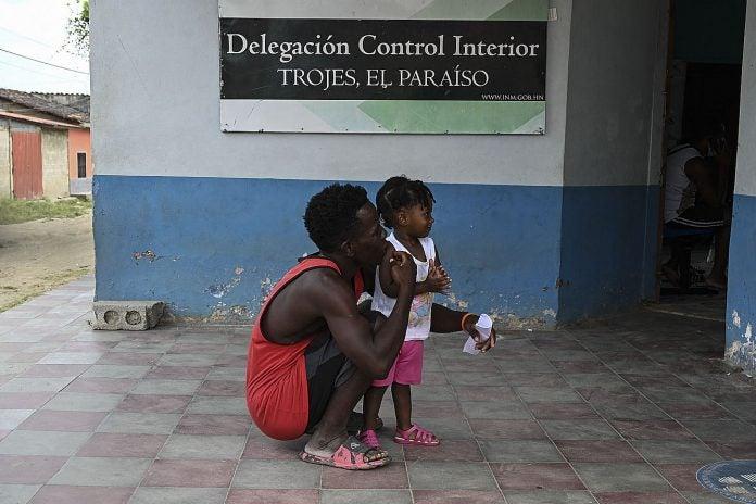 Frontera Honduras con Nicaragua