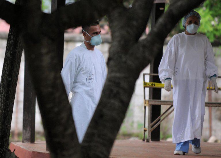 10 personas fallecieron por COVID-19 en el «Tórax» durante Semana Santa