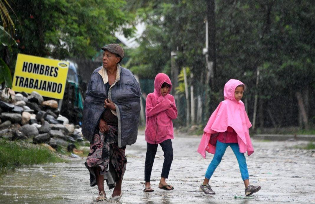 frente frío lluvias Honduras