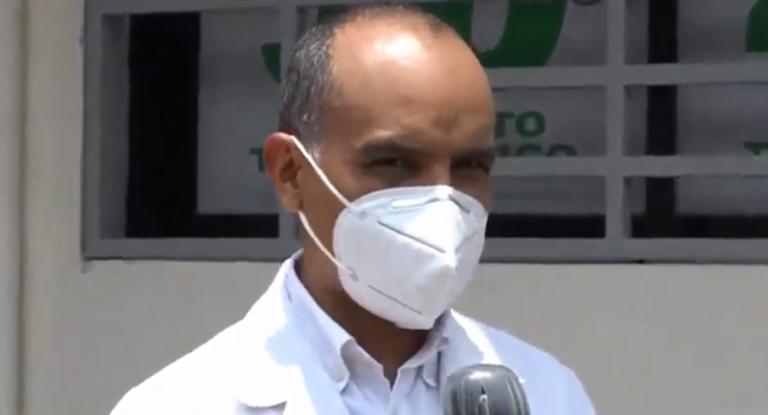 """COVID-19  Doctor Videa advierte: La Paz """"va por el mismo camino"""" que Olancho"""
