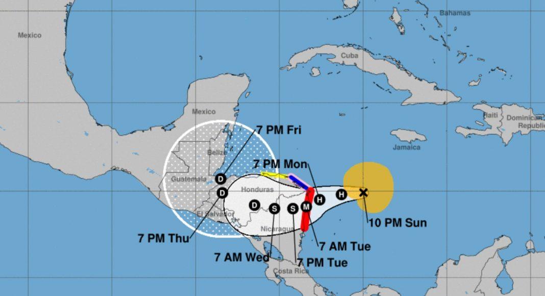 Huracanes 2021 Honduras