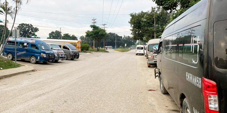 Paro de transporte: puntos afectados el norte y occidente de Honduras
