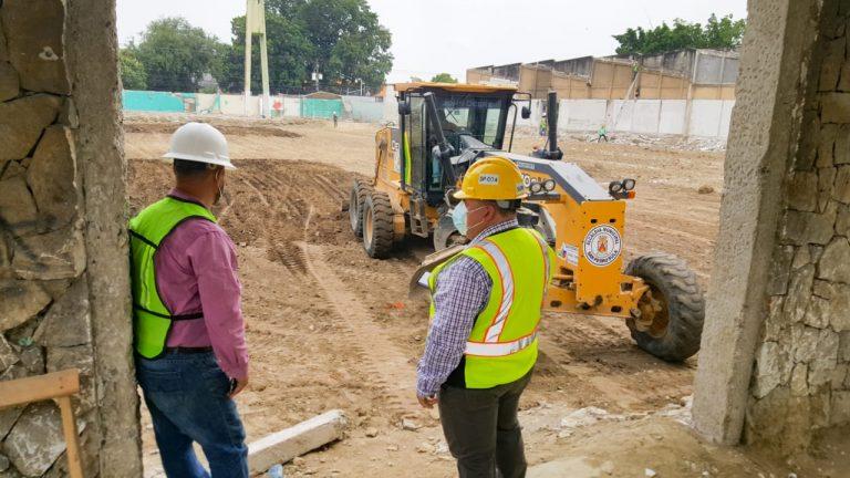Municipalidad de SPS avanza en proyecto de reconstrucción del mercado Guamilito