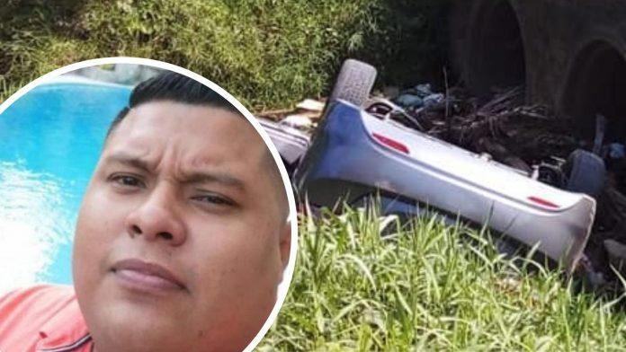 accidente crique La Ceiba