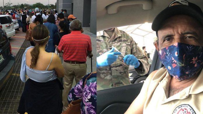 Hondureños vacuna Covid EEUU