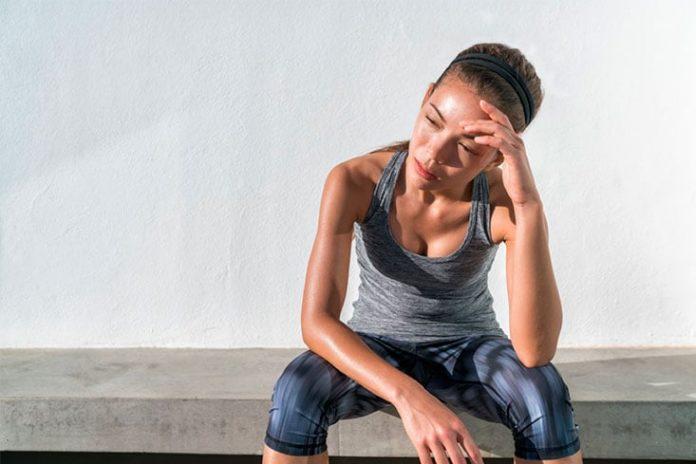 dolor de cabeza después de hacer ejercicio