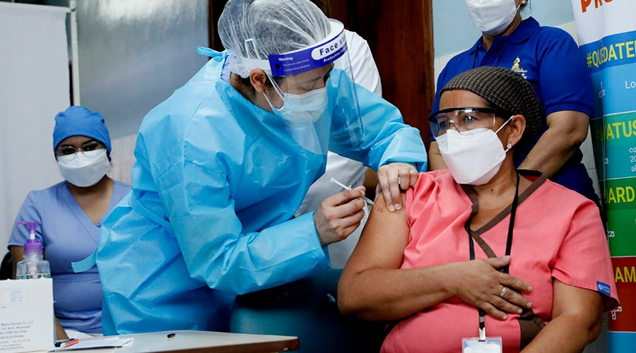 Honduras años vacunar población