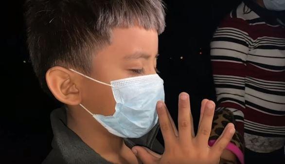 niño hondureño solo EEUU