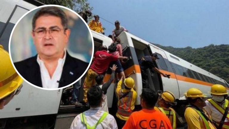 JOH se solidariza con Taiwán tras accidente ferroviario; diplomáticos le contestan